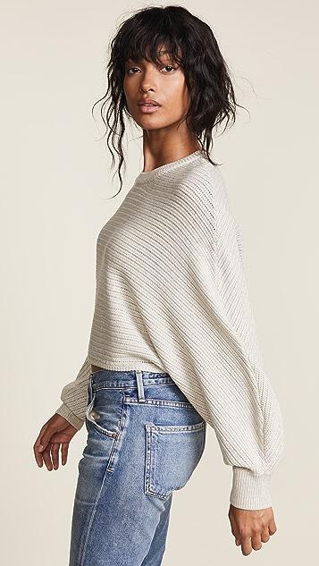 Line & Dot Iris 短款毛衣