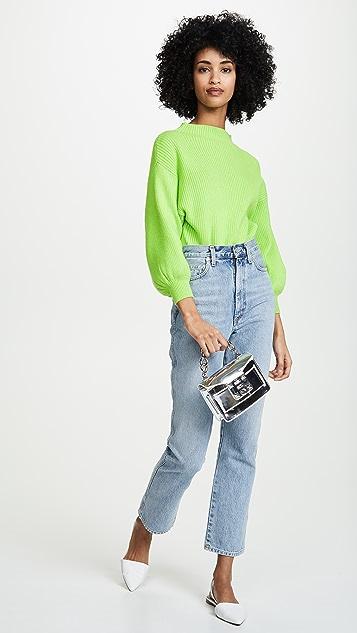 Line & Dot Neon Alder 毛衣
