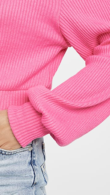 Line & Dot Aston 罗纹针织高领上衣
