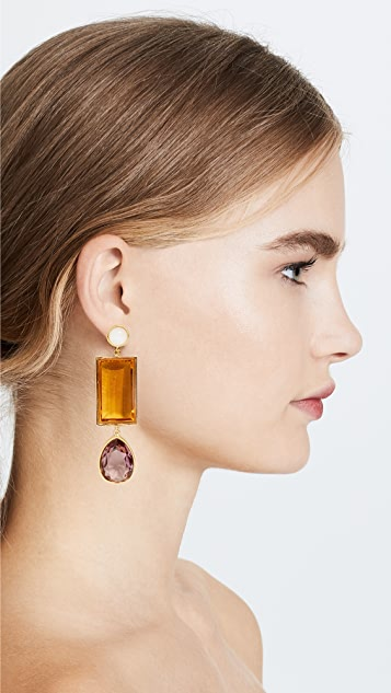 Lizzie Fortunato Amber 耳环