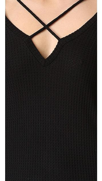 LNA 交叉带毛衣