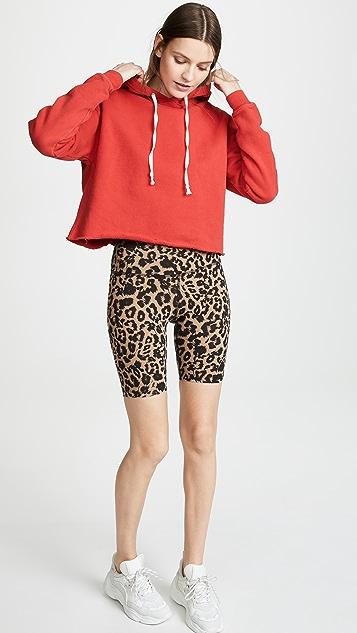 LNA 豹纹机车短裤