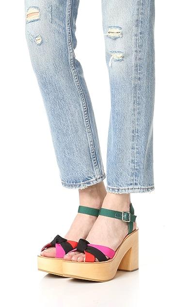 Loeffler Randall Elsa 厚底凉鞋