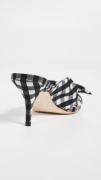 Loeffler Randall Luisa 结饰方锥矮跟鞋