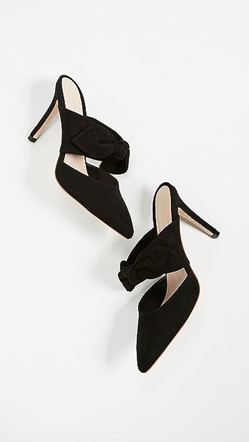 Loeffler Randall Flora 蝴蝶结穆勒鞋