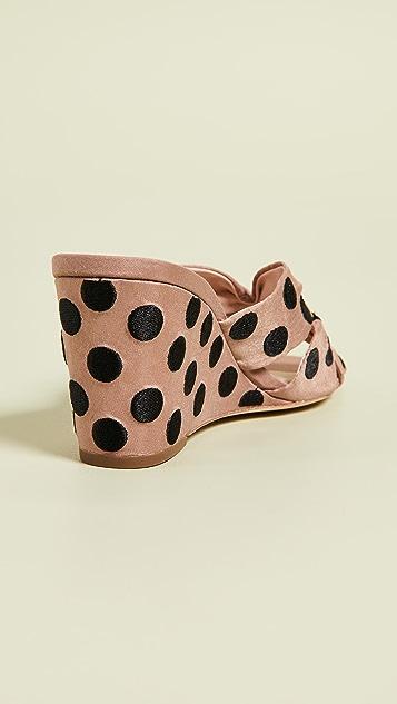 Loeffler Randall Sonya Cinched 坡跟鞋