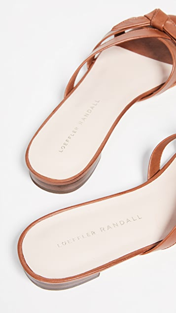 Loeffler Randall Eveline 精致固定带平底凉鞋