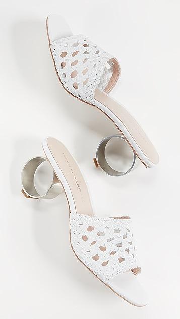 Loeffler Randall Brette 梭织凉鞋