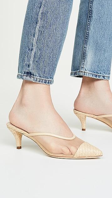 Loeffler Randall Juno 方锥矮跟穆勒鞋