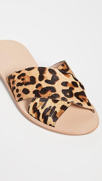 Loeffler Randall Claudie Crossed Plank 便鞋