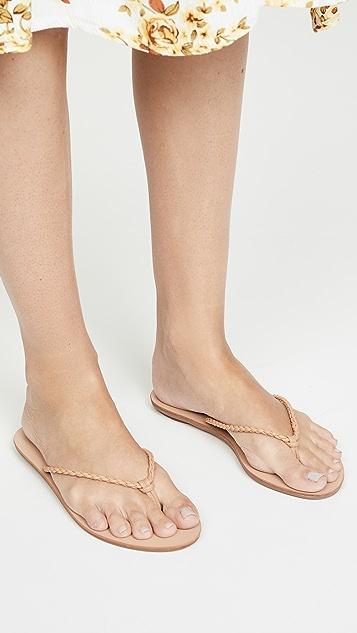 Loeffler Randall Kaia Braided Plank 夹趾凉鞋