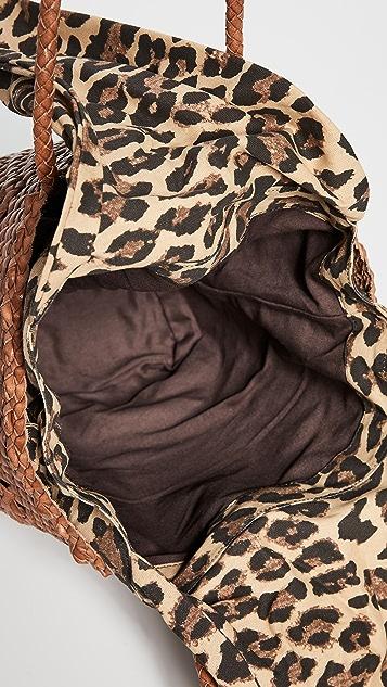 Loeffler Randall Maya 梭织手提袋