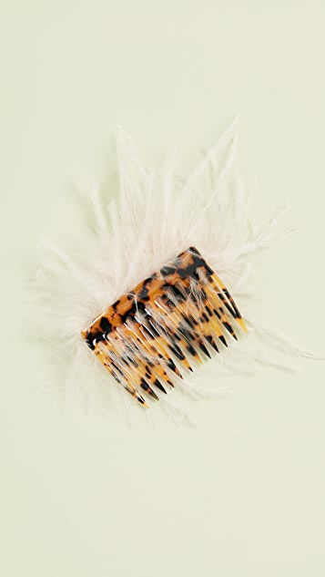 Loeffler Randall 羽毛发梳