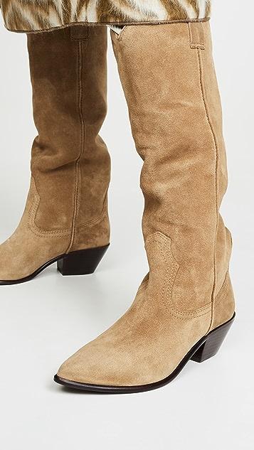 Loeffler Randall Dylan 西部风格高筒靴