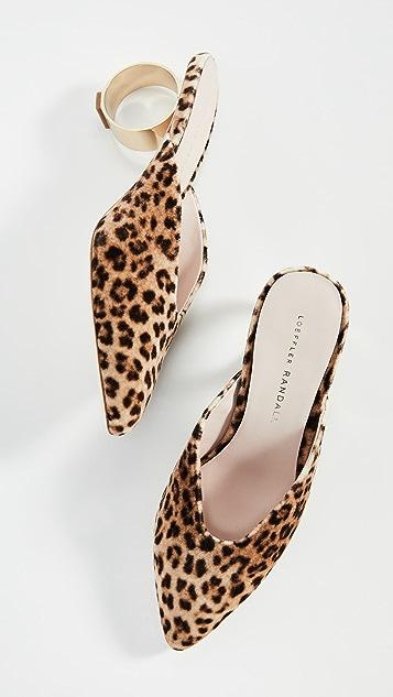 Loeffler Randall Juno 圆跟穆勒鞋