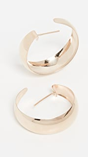 Loren Stewart 圆顶环形耳环