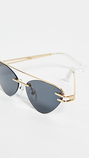 Le Specs x Adam Selman The Coupe 太阳镜