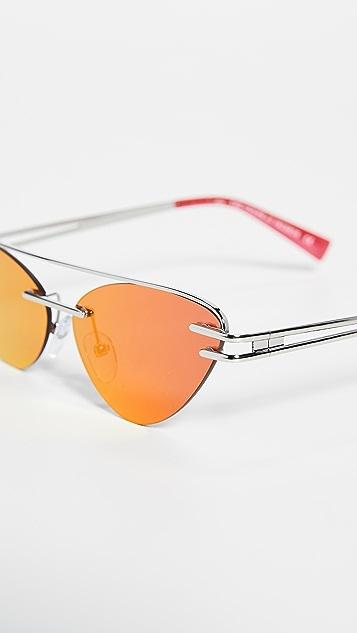 Le Specs x Adam Selman The Coupe 太阳镜