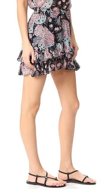 LOVESHACKFANCY Kara 半身裙