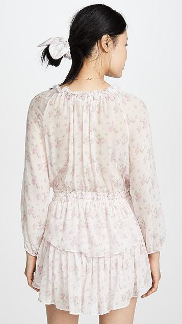 LOVESHACKFANCY 罩衫连衣裙