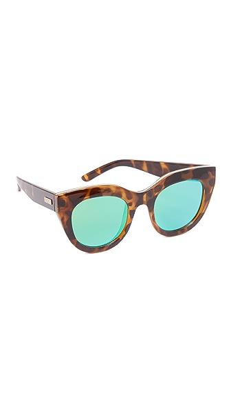 Le Specs Air 心形镜面太阳镜