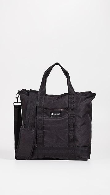 LeSportsac Montana 软垫内部顶部拉链手提袋