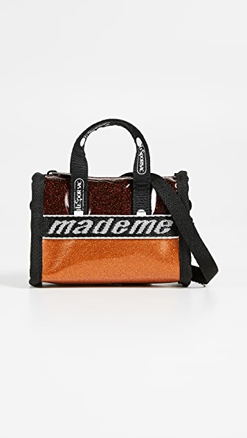 LeSportsac x MadeMe 迷你斜背桶包