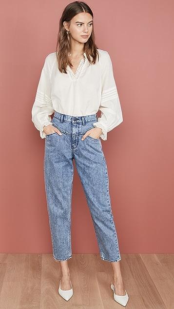 La Vie Rebecca Taylor 小脚牛仔裤