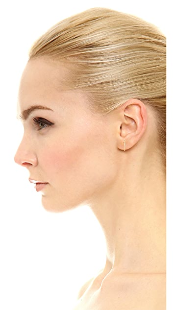 Madewell 多色圈式耳环套装
