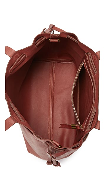 Madewell 束带通勤手提袋