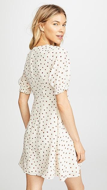 Madewell 草莓复古连衣裙