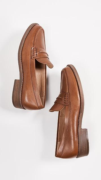 Madewell The Elinor 平跟船鞋