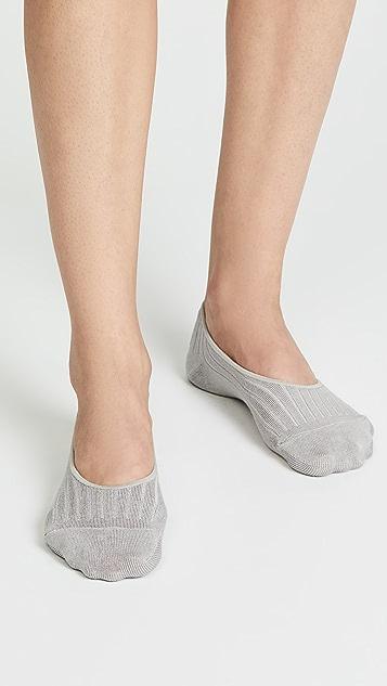 Madewell 罗纹设计低口袜 2 双