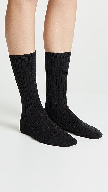 Madewell 罗纹裤袜 2 双装