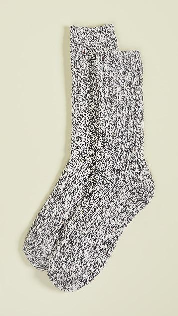 Madewell 双色纱线裤袜