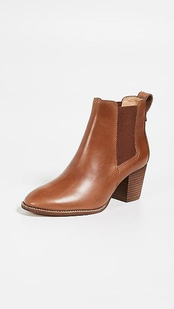 Madewell 切尔西高跟靴