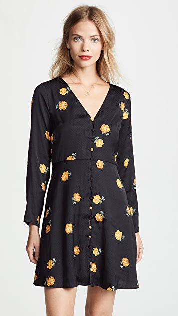 Madewell 花卉印花复古连衣裙
