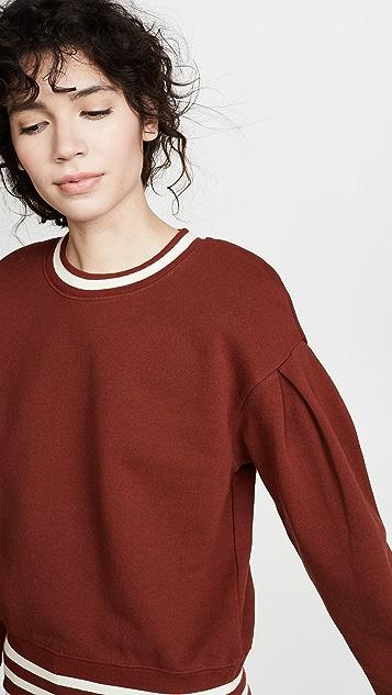 Madewell Acorn Rail 罗纹运动衫