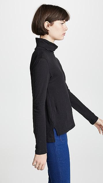 Madewell Whisper 棉质高领毛衣