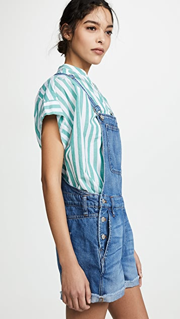 Madewell Adirondack Denville Wash 短款连体裤