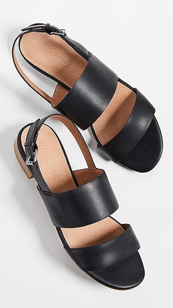 Madewell The Elena 露跟凉鞋