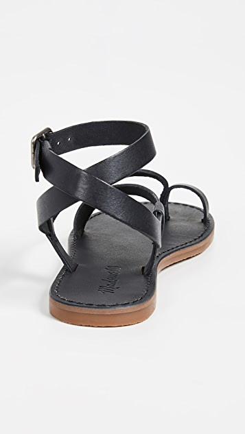 Madewell The Boardwalk Bare 凉鞋