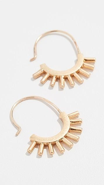 Madewell Succulent 耳环