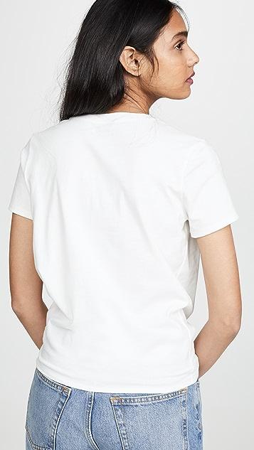 Madewell 正面结饰 T 恤