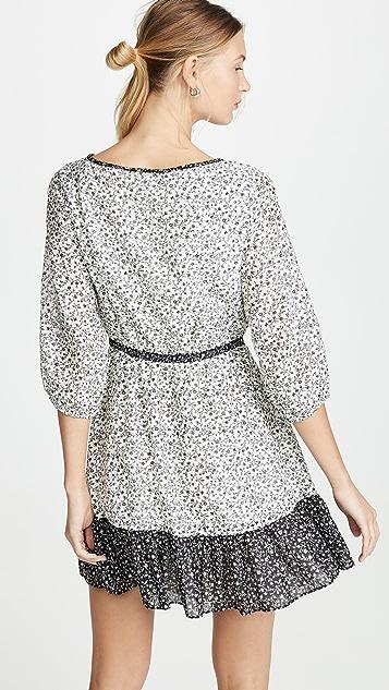 Madewell 混合印花连衣裙