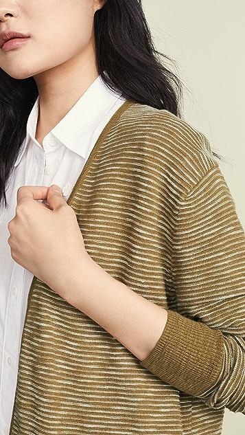 Madewell Striped Summer Ryder 开襟衫