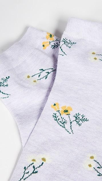 Madewell Botanical 踝饰袜