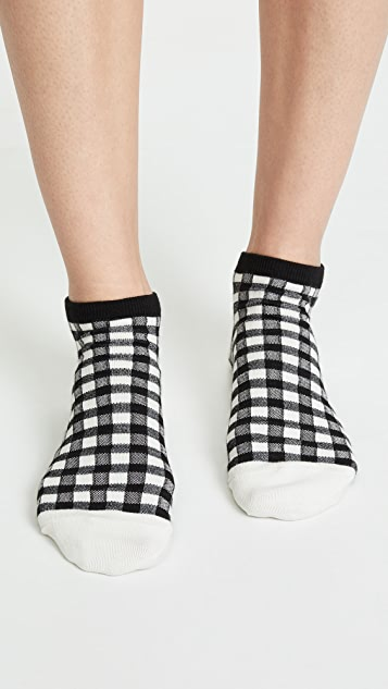 Madewell Gingham Play 短袜
