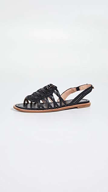Madewell The Maya Huarache 凉鞋