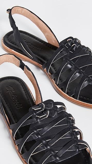 Madewell The Maya Huarache 凉鞋